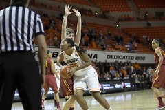 Oklahoma State University Cowgirls vs  Iowa State University Cyclones Basketball Game, Wednesday, February 26, 2014, Gallagher-Iba Arena, Stillwater, OK (OSUAthletics) Tags: jones osu cyclones isu cowgirls womensbasketball 2014 iowastateuniversity oklahomastateuniversity 20132014 lashawnjones