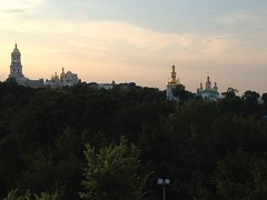 Uitzicht over Kiev