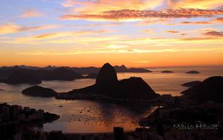 Amanhecendo no Rio de Janeiro