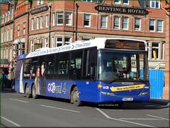 Nottingham 303 (YN07 LDZ) (Colin H,) Tags: county city nottingham bus ex buses campus 4 transport council uni premiere clifton scania nct 2014 notts nottinghamcitytransport uni4 ibp go2 ldz omnilink triaxle ipswichbuspage yn07 yn07ldz colinhumphrey
