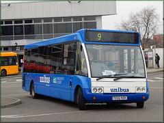 notts+derby 453 (FE02 KEK) (Colin H,) Tags: bus buses group 9 trent solo nd service barton derby kek ibp optare unibus fe02 nottsderby wellglade m920 ipswichbuspage fe02kek colinhumphrey