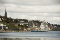 USS Leyte Gulf in Cobh (Jon Mathers) Tags: gulf cork cobh uss leyte