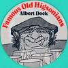 Famous Old Higsonians - Albert Dock (Leo Reynolds) Tags: xleol30x squaredcircle beer mat coaster beermat famous old higsonian canon eos 40d 0sec f80 iso100 60mm 033ev sqset103 hpexif xx2014xx
