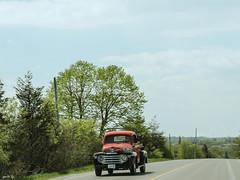 The Red Truck (gabi-h) Tags: red truck vintage picton princeedwardcounty gabih