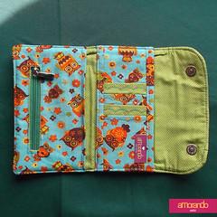 Carteira Amorando (Manuela M. de Oliveira) Tags: design handmade amor moda artesanal craft carteira presente feminino acessórios encomenda feitoamão lojaonline utilitários ateliêamorando