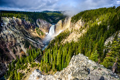 Yellowstone Falls - explore (Marvin Bredel) Tags: explore yellowstonenationalpark yellowstone wyoming loweryellowstonefalls marvinbredel sonya6000