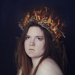 The Fire Queen (Kathryn Juarez Photography) Tags: fire queen crown firecrown