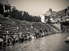 2006 India,  Badami 079.jpg (Mandir Prem) Tags: indians ancient wildlife asia backpakers india exotic travel bw outdoor temple nature places badami