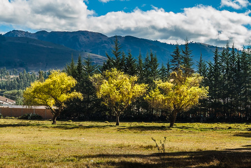 Paisaje Perú