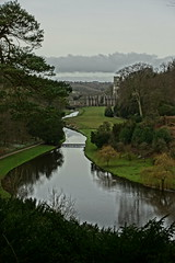 View of Fountains Abbey (Sparky the Neon Cat) Tags: europe uk united kingdom gb great britain england north yorkshire studley royal surprise view anne boleyns seat fountains abbey landscape