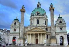 Karlskirche, Vienna (mmalinov116) Tags: vienna austria виена австрия architecture karlskirche capital baroque church karlsplatz outstanding beautiful rococo