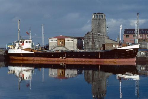 Glenrosa James Watt Dock Greenock 1976