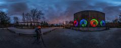Landschaftspark Duisburg (Retro1974) Tags: duisburg lapadu landschaftspark lüfter licht nacht langzeitbelichtung nikon samyang 12mm d700 hdr look