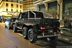 Mercedes-Benz G 63 AMG 6X6 - Qatar (Helvetics_VS) Tags: licenseplate qatar sportcars mercedes gklass g63amg 6x6 amg
