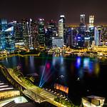La Marina vue d'en haut - Singapour thumbnail
