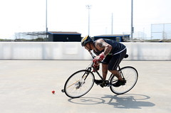 Polo at the Beach II, Port Aransas, Texas (DrewGaines) Tags: bicycle texas drew bikes polo bikepolo portaransas gaines bicyclepolo d7000 hardcourtbikepolo austinbikepolo drewgaines northtexasbikepolo sanantoniobikepolo poloatthebeach