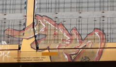 Hes (Prof. Mortus DeNali) Tags: street art bench graffiti paint tag caps piece burner bomb hes freight throw krylon autorack rusto ironlak