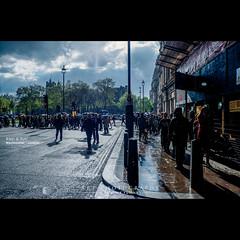 Rain & Sun | London [FUJI x-PRO1] (dominikfoto) Tags: city greatbritain london rain fuji britain pluie bigben londres angleterre fujifilm fujinon ville 18mm fusina angland wetsminster xpro1 dominikfusina