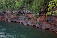 Lake Superior Caves (monophysite57-zzz) Tags: wisconsin cliffs caves cave lakesuperior