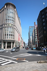 Europe in Japan (Ayrcan) Tags: street city urban japan buildings tokyo asia metropolis honshu