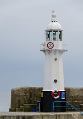 Harbour Light - Megavissey, Cornwall, England, UK (Paul Diming) Tags: uk greatbritain england lighthouse landscape spring lighthouses unitedkingdom fishingvillage mevagissey mevagisseycornwall d7000 mevagisseyuk pauldiming mevagisseycornwallengland mevagisseyengland