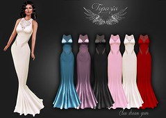 TOPAZIA- Clea dream gown (nathaliatopaz) Tags: mesh sl secondlife gown meshes