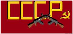 CCCP (Crimson Thunder- TexHellhound) Tags: cold hammer war union ak soviet sickle 47 cccp pmg союз советских социалистических республик pimpmygun doctornoob