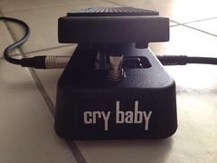 Dunlop Cry Baby (slazgrc) Tags: baby guitar cry pedal wah dunlop uploaded:by=flickrmobile flickriosapp:filter=nofilter