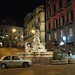 Fontana di Monteoliveto at night, Naples, Campania