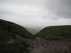 Start of the epic descent from the Gap (neil.finnes) Tags: dorset rough brecon beacons riders
