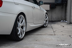 BMW_328i_MRR_GT8_WHEELS_HS_08 (MRR WHEELS) Tags: white silver wheels tires bmw rims e90 328i