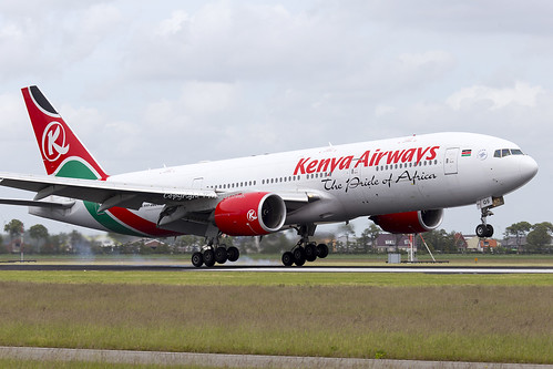 Kenya Airways Boeing 777-200 5Y-KQS