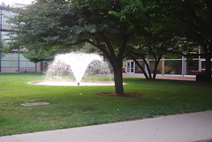 Illinois Institute of Technology (artistmac) Tags: city urban music chicago college water fountain st architecture modern campus illinois student university technology state center il institute iit miesvanderrohe van 33rd statest der mies tribune urbanrenewal 35th mccormick rohe 33rdst illinoisinstituteoftechnology vandercook shimer