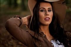 tanja_2_i (rabbit + cat) Tags: light portrait brown black hat female hair women natural posing lips jacket
