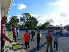 Winter petanque at Herne Bay (Sandy Austin) Tags: newzealand sport auckland northisland leisure petanque hernebay sandyaustin hernebaypetanqueclub panasoniclumixdmcfz40