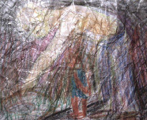 man art giant sketch drawing jeans overalls crayon fch giveawayboy billrogers