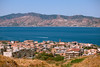 Calabrian view on Messina strait (nataliamacheda) Tags: travel houses sea summer italy landscape outdoors coast italian mediterranean view district sunny nobody reggiocalabria coastal typical residential calabria strait messinastrait calabrian
