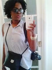 Non DSLR Selfie (ChicWithKinks) Tags: portrait woman girl sunglasses fashion photography afro smartphone portraiture dslr naturalhair selfie samsunggalaxy chicwithkinks