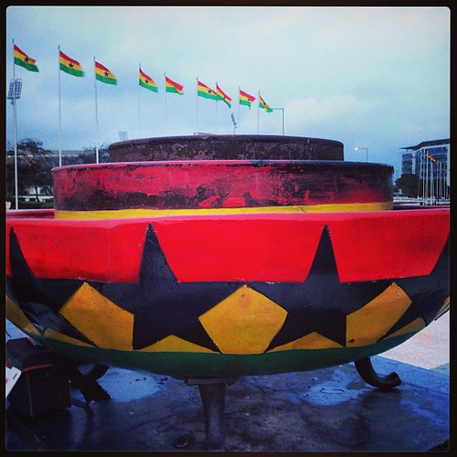 In Accra, Ghana, Africa!