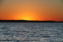 colours (cyberjani) Tags: sunset sea nin adriatic dalmatia