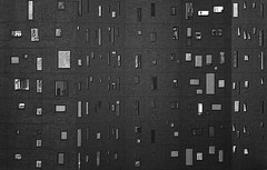 windows - IMG_2935A (Juan Valentin, Images) Tags: newyorkcity windows blackandwhite blancoynegro chelsea manhattan ventanas