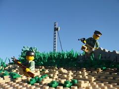 "Operation Mercury ""On Patrol"" (Rebla) Tags: outside lego mercury outdoor wwii battle crete ww2 operation brickarms fallschirmjäger"