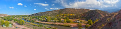 canoncity-pan-1 (Wildsight Photography) Tags: city sky panorama clouds canon river colorado tunneldrive