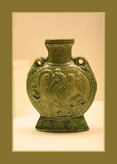 Pilgrim Bottle (Sergei P. Zubkov) Tags: berlin art museum ceramics kunst may fr dahlem 2011 asiatische