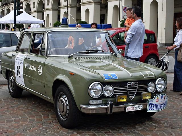alfaromeo polizia trafficpolice