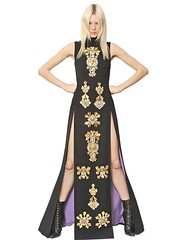 FAUSTO PUGLISI  EMBROIDERED WOOL CREPE LONG DRESS Fashion Fall Winter 2013-14 (xecereterys) Tags: winter fall wool clothing women long dress dresses crepe embroidered fausto puglisi 2013 faustopuglisiembroideredwoolcrepelongdressfallwinter2013womenclothinglongdresses