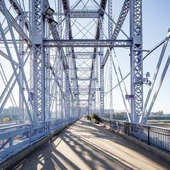 Purple People Bridge no. 08 (samuel ludwig) Tags: 1895 canon5dmarkiii canontse24mmf35lii cincinnati ky newport oh ohio purplepeoplebridge kentucky flickr