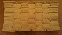 ... variation 1 (Tom Crain Origami) Tags: origami tessellations origamitessellations