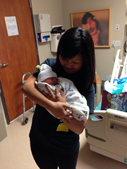 "Aunt Emily Holds Paul for the First Time • <a style=""font-size:0.8em;"" href=""http://www.flickr.com/photos/109120354@N07/10953468934/"" target=""_blank"">View on Flickr</a>"