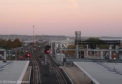 November 13th, 2013 Go West - Reading Railway Station (karenblakeman) Tags: uk november reading railwaystation redevelopment civilengineering readingstation 2013 2013pad